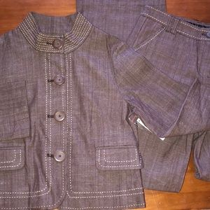 Attention 2pc suit size 4 NWT